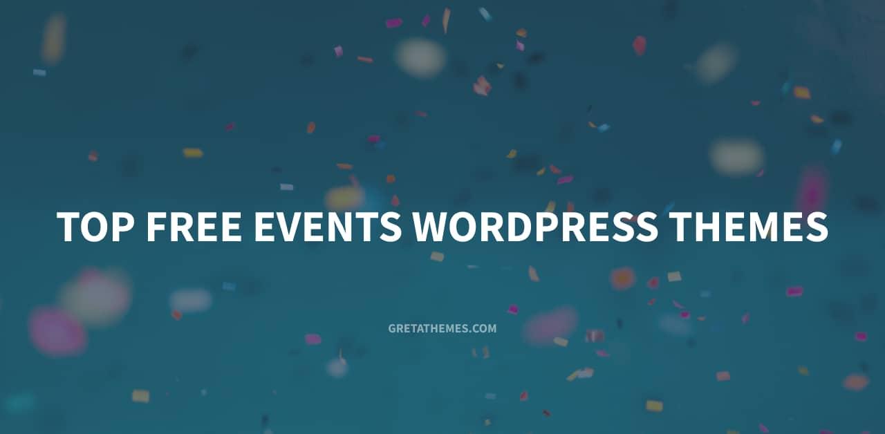 Top 10 Free Events WordPress Themes