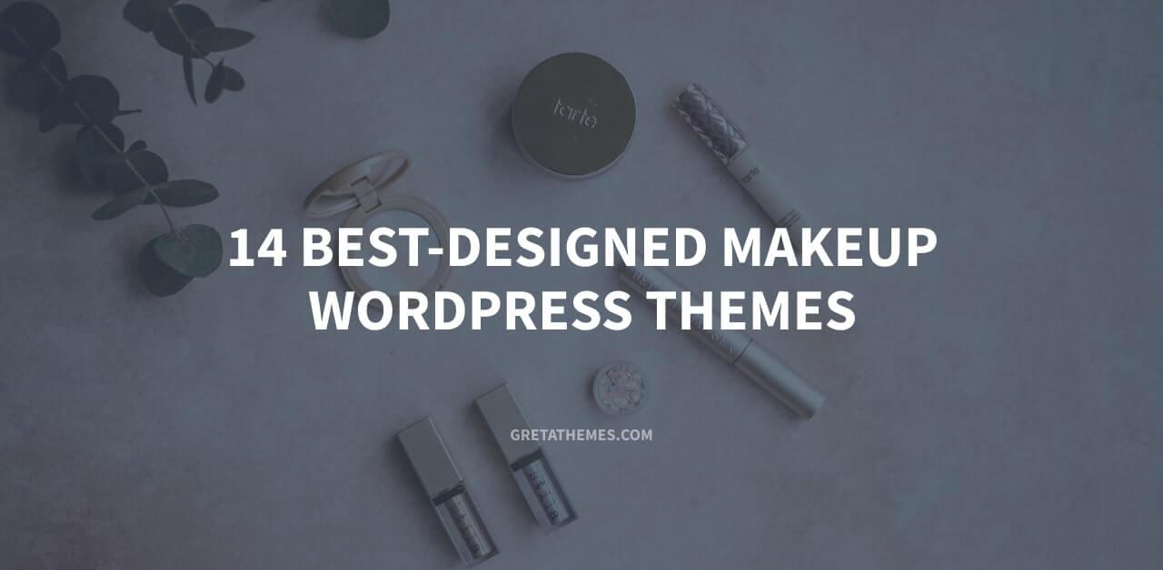 14 best designed makeup WordPress themes