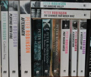 Picture of books by Peter Robinson