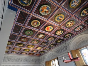 Picture of decorated ceiling