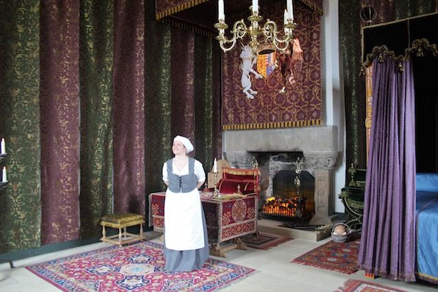 picture of the Queen's bedchamber