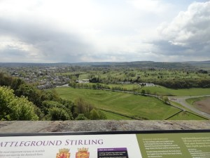 photo of Bannockburn from the castle