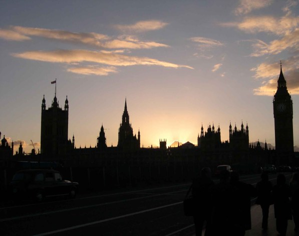 picture of Sunset on the Houses of Parliament, London