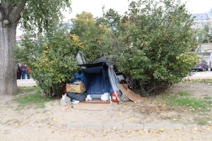 Somebody's home on the banks of the Danube