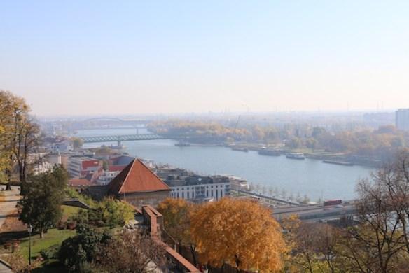 Bratislava from the castle