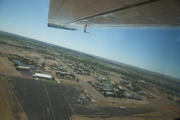 Birdsville from the air. All of it.