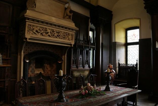 A beautifully restored interior