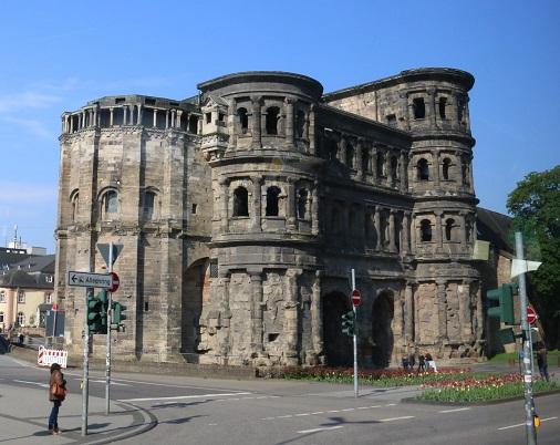 The Porta Nigra (the black gate)