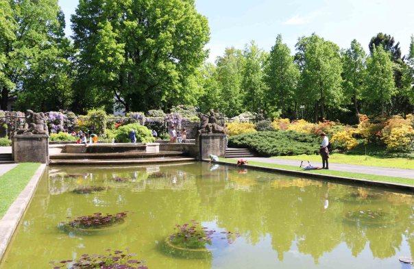 Bern's beautiful public gardens
