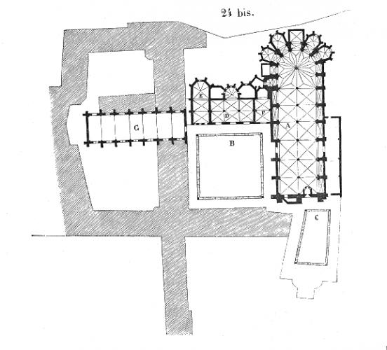 Plan.eglise.Jacobins.Toulouse