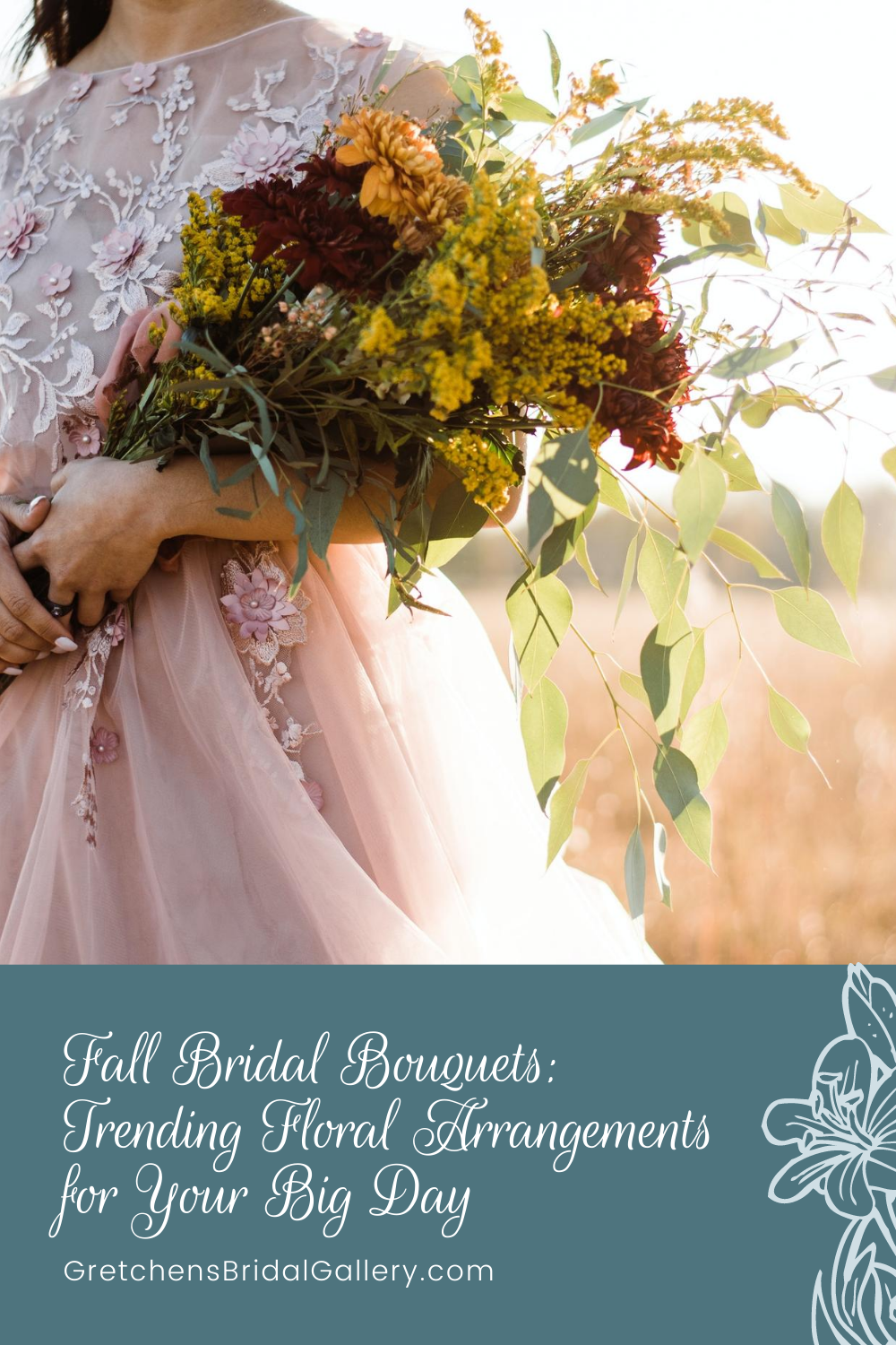 fall bridal bouquets that you will love