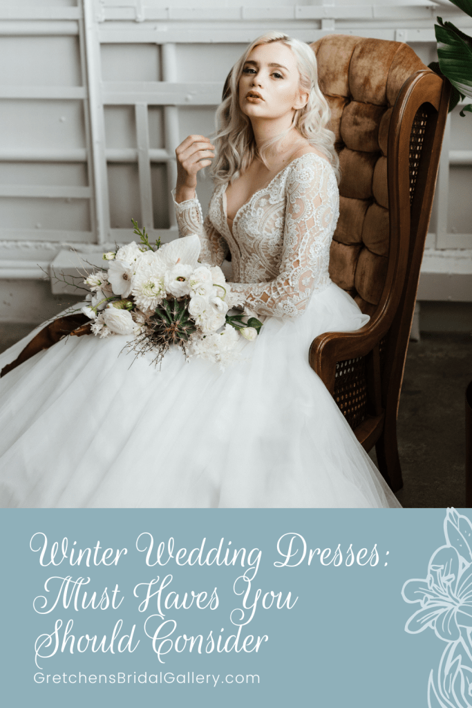 Gorgeous winter wedding dresses to consider for your big day