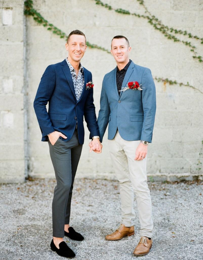 classic wedding tux