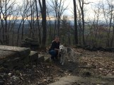 at the top of Big Round Top