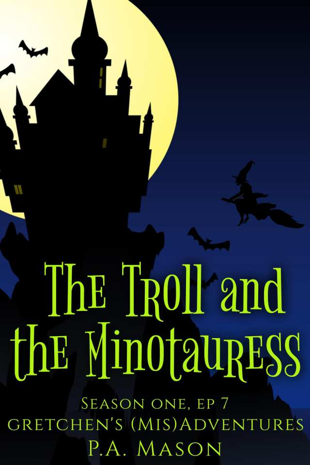 the troll and the minotauress cover