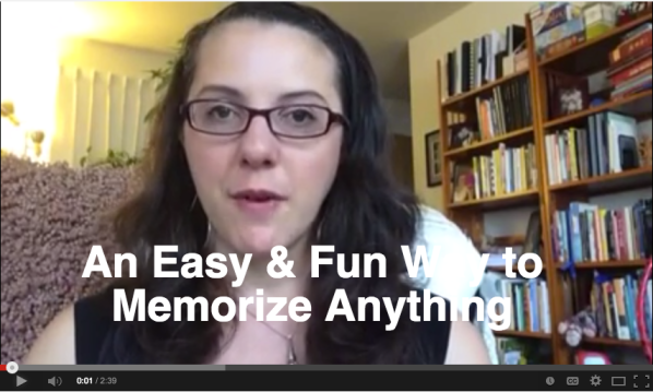 An Easy and Fun Way to Memorize Anything