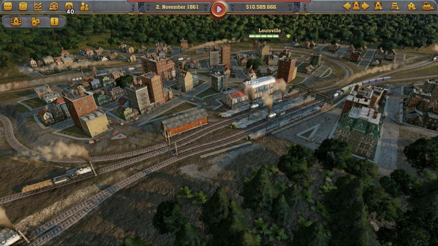 Railway Empire Preview Screenshots