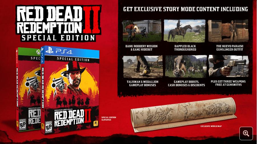 read dead redemption 2 special edition