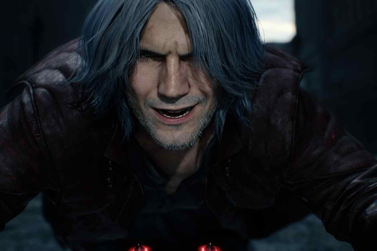devil may cry 5 dante tokyo game show 2018
