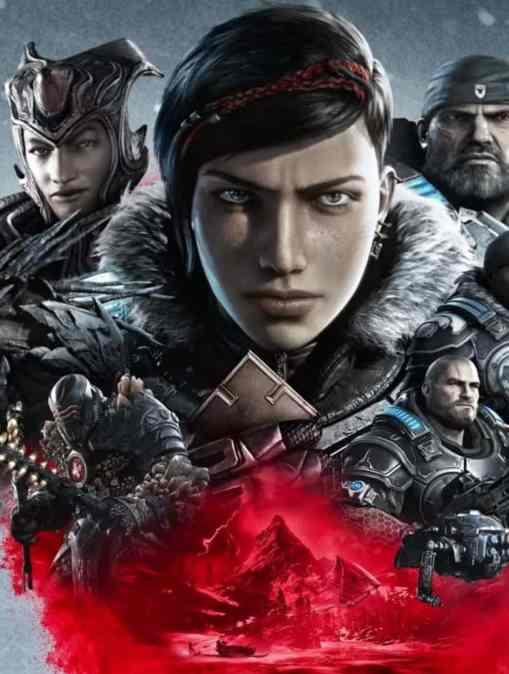 gears of war 5 cover