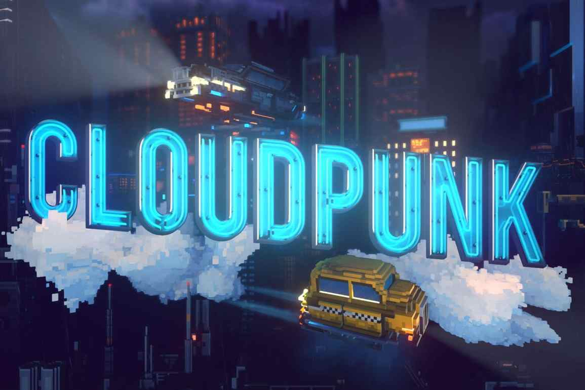 Cloudpunk screen test
