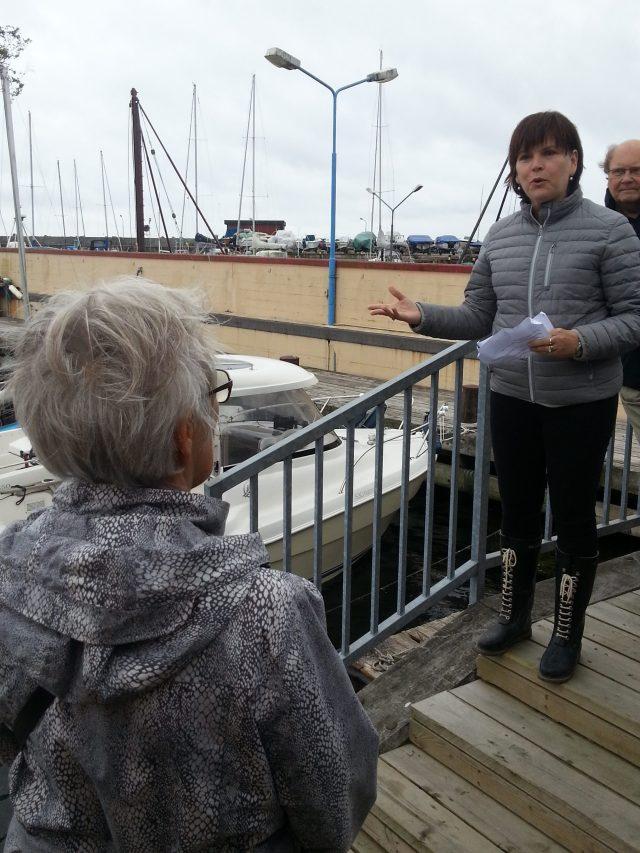 Borgmester Pernille Beckmann holder takketale