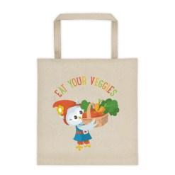 Grewwit's Veggie Basket Tote bag