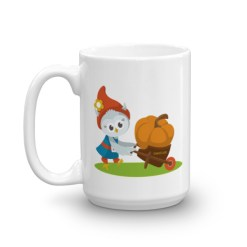 Grewwit and the Giant Pumpkin Mug