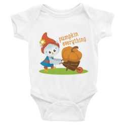 Grewwit and the Giant Pumpkin Infant short sleeve one-piece