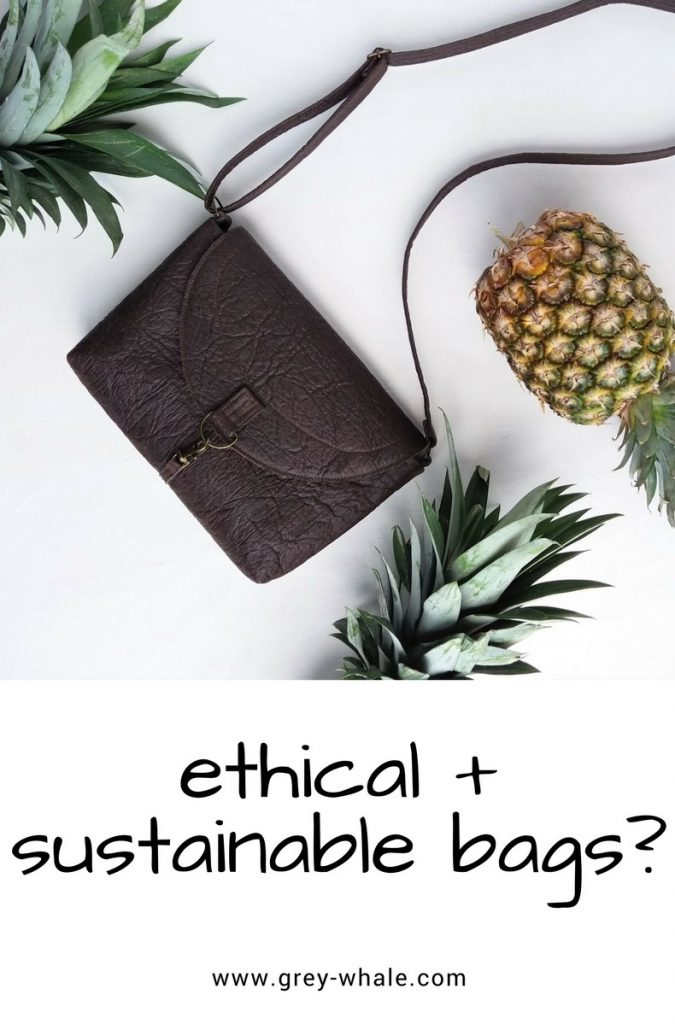 ethical sustainable fashion bags