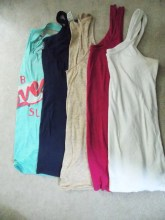 Tank tops for layering and relaxing on the beach