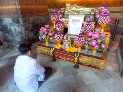 Praying to the Reclining Buddha