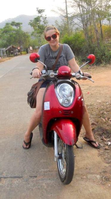 Me and my bike - Taken by Zoe Gossage