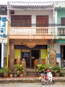 Craters cafe in Phonsavan