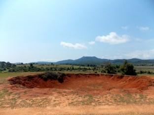 1,200 lb bomb crater