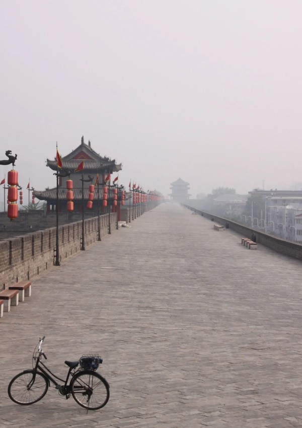 Xi'an Report | How to Cycle Xian's Old City Wall in China