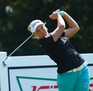 Brooke Henderson at the Cambia Portland Classic in 2015. Photo by Scott H. Bisch