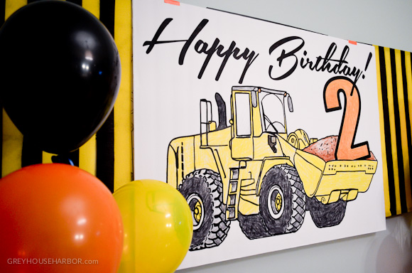 Construction Birthday Bash