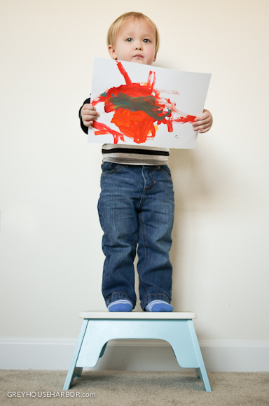 kids art critique  |  greyhouseharbor.com