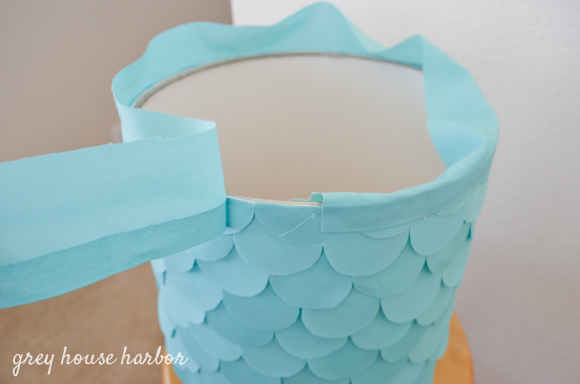 how to rebuild a lampshade  |  greyhouseharbor.com