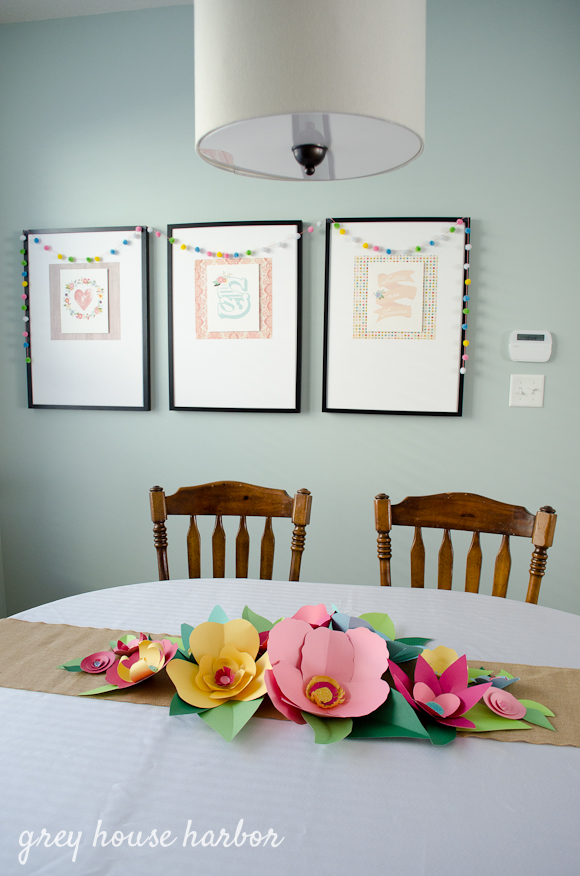 floral baby shower  |  greyhouseharbor.com