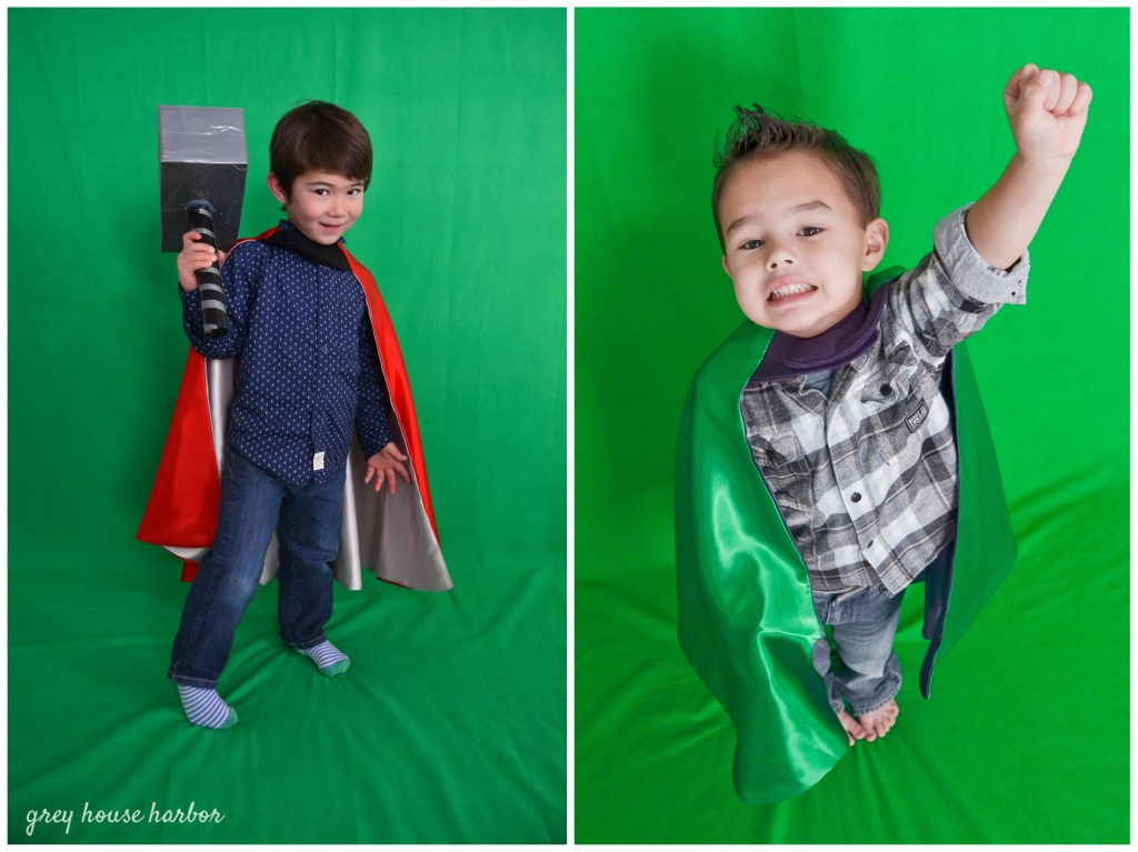 Green Screen Photo Booth Party Idea | greyhouseharbor.com