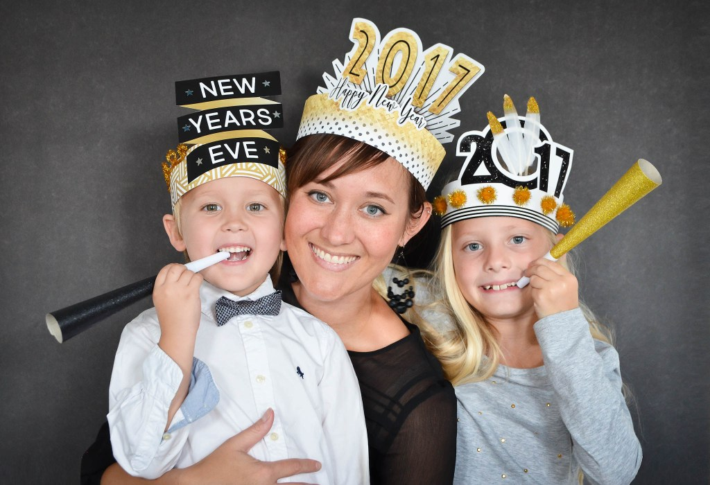 New Years Printable Hats 2017