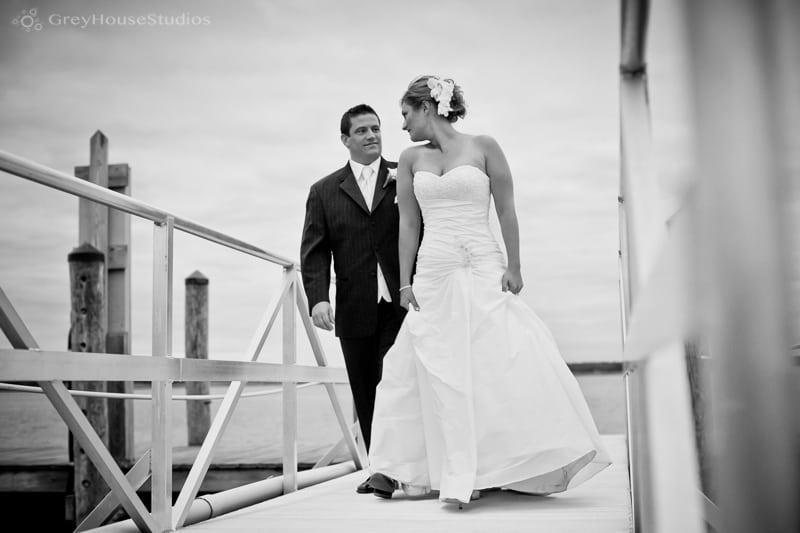 Jen + Matt's Saybrook Point Inn Wedding Photos in Old Saybrook, CT