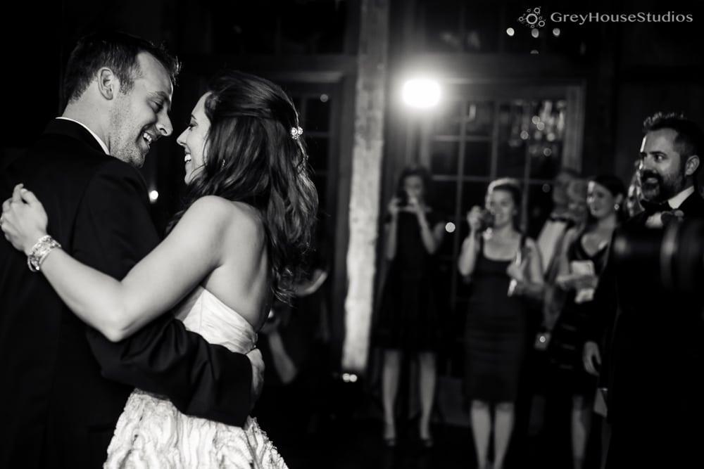 winvian wedding reception photos bride and groom's first dance