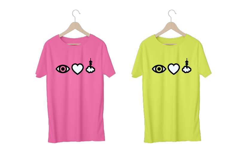 Eye Love Jozi t-shirts
