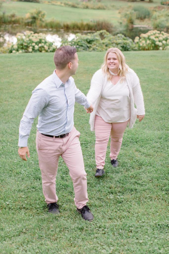 couple posing wedding