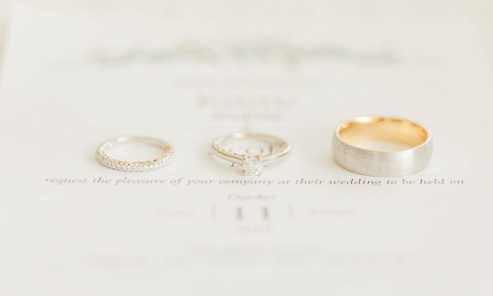 Beautiful Wedding Ring Photo - Stonefields Weddings and Events Interior - Ottawa Wedding Venue - Modern & Rustic Wedding Venue