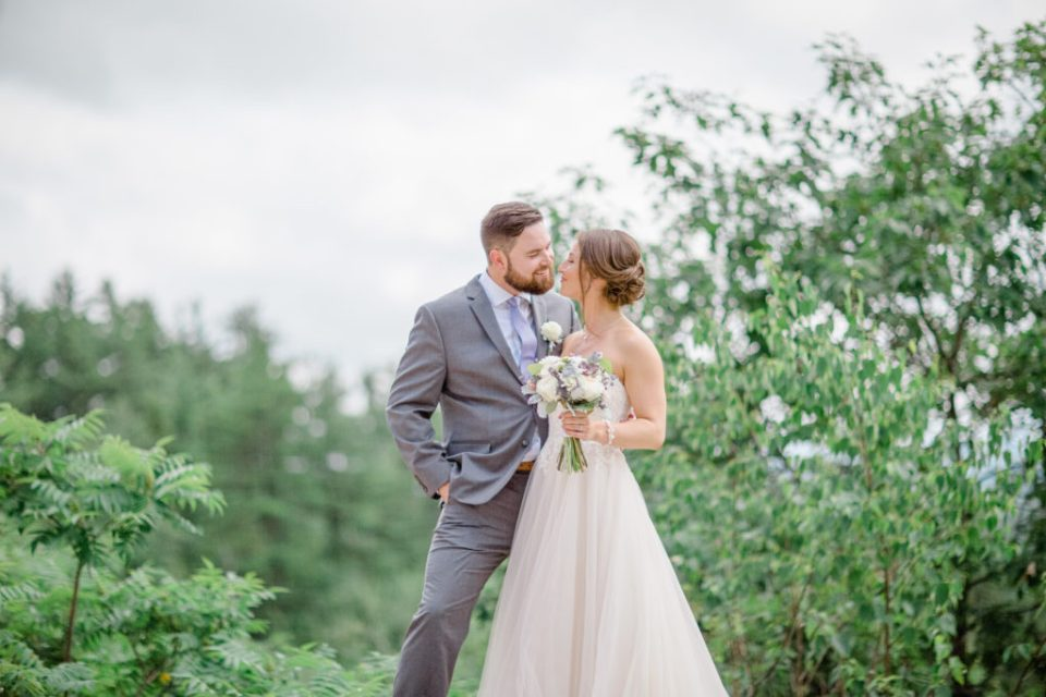 Bride and Groom Super In love - Lavender Rain Inspired Wedding - Le Belvedere- Grey Loft Studio- Ottawa Wedding Photographer - Affordable - Cheap - Fine Art - Best - Kanata Photographer - Wedding Videographer Ottawa - Light and Airy - Beautiful - Timeless - Organic Photographer Carp - Stittsville