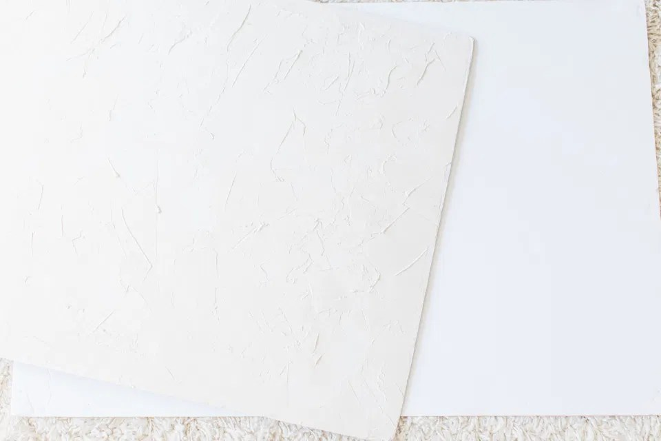 Textured Styling Board - Made with Plaster for the Walls - DIY